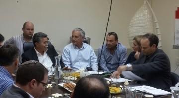 פגישה עם נציגי האנרגיה המתחדשת